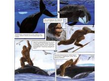 """2. Illustration fra tegneserien """"Tunissut""""/ """"Gaven"""""""