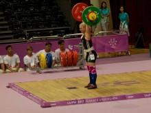 Emma Enberg, tyngdlyftning