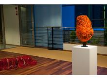 Teiskan teoksia Kiillon taidenäyttelyssä