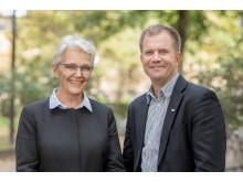 Margareta Wahlström och Martin Ärnlöv