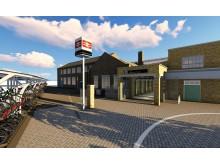 Eastbourne new entrance - artist's impression LR