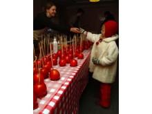 На рождественской ярмарке в Осло