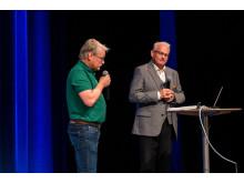 Finnvedsbostäder 70 år - Stanley Guldmyr och Lars Lejon - foto John Nelander
