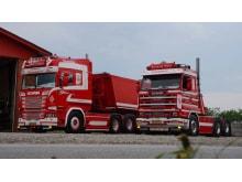 Ældre herre inspirerer til indretning af førerhuset i ny Scania R 580