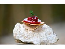 Älgsalami från Hygns Vilt med konjakslingon