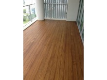 Completed Accoya® Wood Decking by Evorich