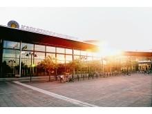 Universitetsbiblioteket i Karlstad hållbarhetscertifieras enligt Miljöbyggnad Guld