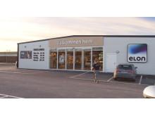 Butiken i Nyköping - entrén