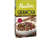 Paulúns Granola - Kakao och hallon
