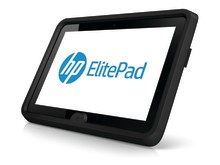 HP ElitePad with HP ElitePad Rugged Case