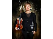 Maria Lindal, violinist och konsertmästare på Drottningholms Slottsteater