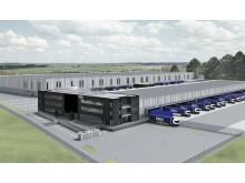 Anläggningen ska miljöcertifieras enligt Breeam.