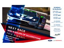 WEC Championship fortsätter vid Silverstone