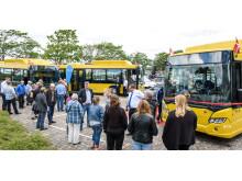 Levering af Scania gasbusser til Silkeborg
