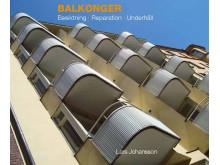 Balkonger - besiktning, reparation och underhåll