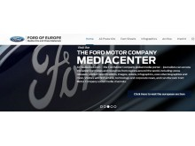 Ford online press kit center