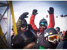 Markus Olimstad og Mons Røisland skal konkurrere om en plass i X Games Oslo. Foto: Glenn C. Pettersen / Snowboardforbundet