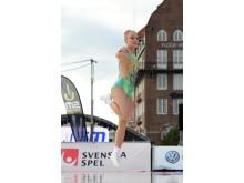 Wilma Jönsson, guldmedaljör SM i aerobic gymnastics 2019