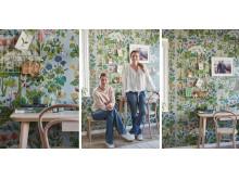 Ett vackrare hem med Johanna och Kristin del 2 Arbetsrummet