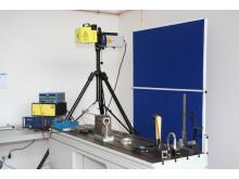 Labor für Maschinendynamik und lärmarme Konstruktion: 1D-Laser-Schwingungsmessplatz