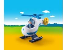 Der neue Polizeihubschrauber von PLAYMOBIL 1.2.3