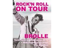 ROCK´N ROLL ON TOUR med BROLLE