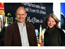 Tomas och Karolin Kull, grundare av MatHem.se