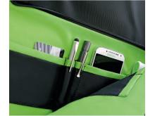 Smart Traveller väska - detalj insida