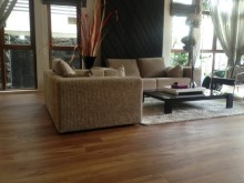 Completed Flooring Project by Evorich ~ Quality High End Resilient Flooring in House @ Branksome Road