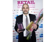 Vinnare Årets säkerhetslösning Retail Awards 2011