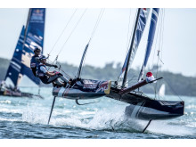 Hi-res image - YANMAR - YANMAR stepped up its support for the Red Bull Foiling Generation World Finals in November in Miami, Florida, this year – a global high-performance hydrofoil racing tournament for 16 to 20 year olds