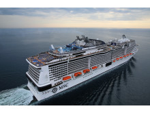 High res image - Marlink - MSC Meraviglia