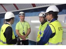 Eitech har genomfört säkerhetsvecka tillsammans med VINCI Energies