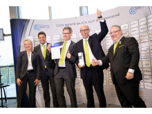 Enthusiastic winners of the Telematik Award