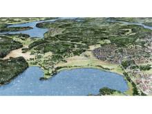 Väsby Eds allé och Väsby sjöstad
