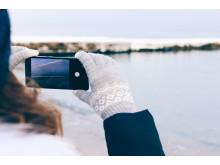 Ta hand om mobilen i kylan