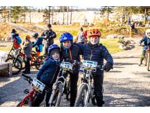 2600 deltakere på sykkelarrangementer