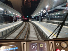 View from the cab