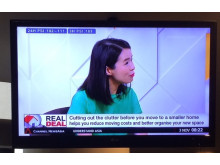 Edits Inc goes on Channel NewsAsia to discuss downsizing homes