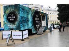 Vision Van at Wolfe Tone Square