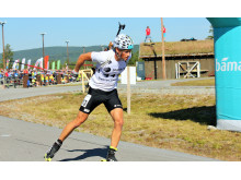 NM rulleskiskyting 2015 Jaktstart Henrik L'Abée-Lund