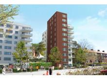Arkitektbild över Diligentias Fjällnäset 16, Sundbyberg
