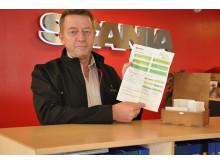 Leder af Scanias chaufførakademi udtrykker vinder