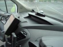 Front camera and monitor