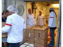 Chark-SM skänker 1 ton charkuterier