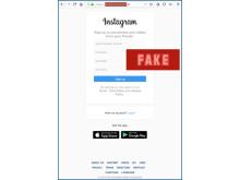 Instagram, fake