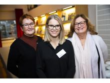 Monica Vestberg, BizMaker, Johanna Johansson, PlantVation och Gun Blom Lundgren, IBM.