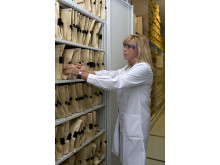 Beslagtagna falska läkemedel som testats i laboratorium
