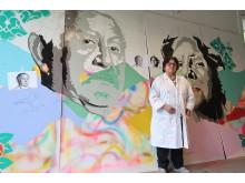 Elsa Miriam Quiñones de Vega, en av skaparna av Seniorernas konst. Foto: Saadia Hussain