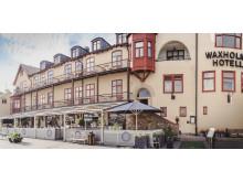 Exteriör Waxholms Hotell sommar